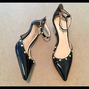 Sole Society Women's Black Studded Pumps Size 10